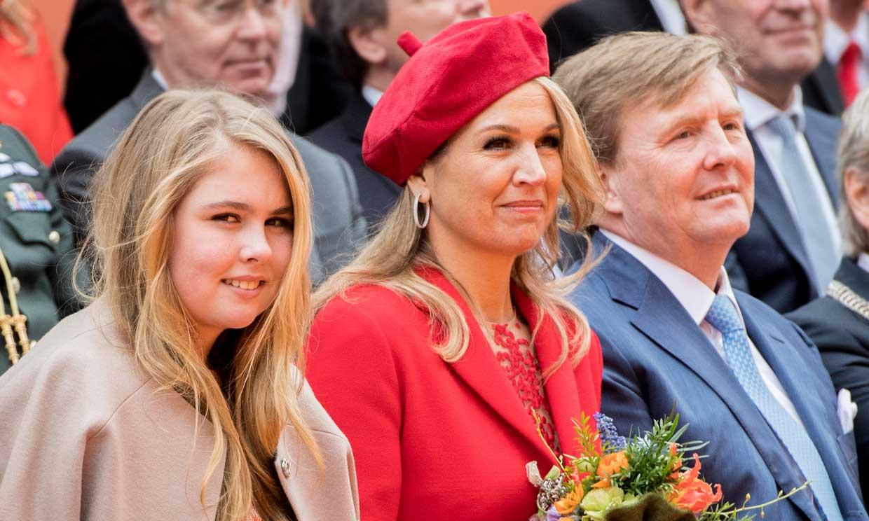 Máxima y Guillermo de Holanda, orgullosos de su hija mayor: 'Es una niña fantástica'