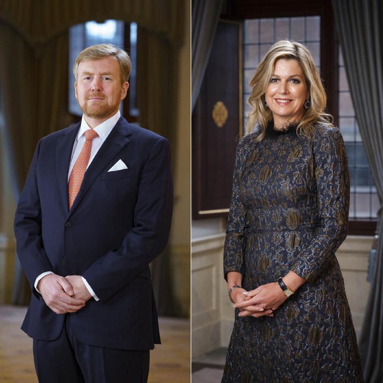 Los reyes Guillermo y Máxima de Holanda, todo elegancia en sus nuevos retratos oficiales