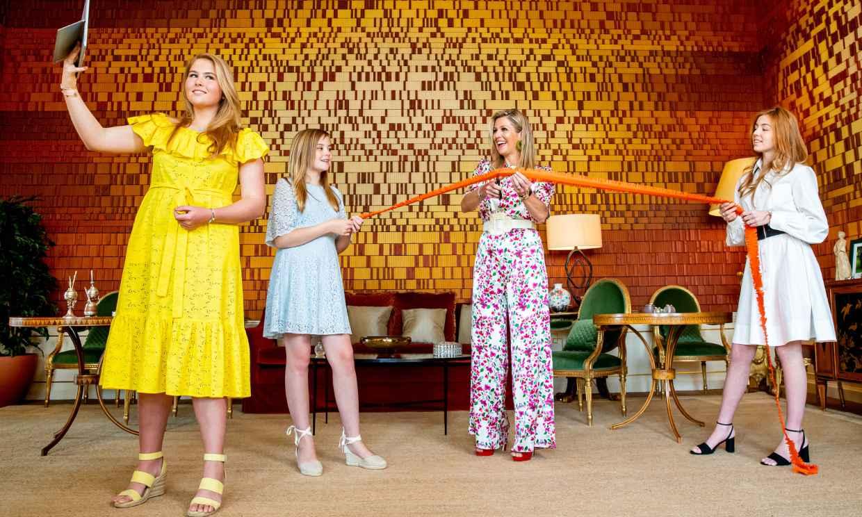 Amalia, Alexia y Ariane de Holanda vuelven a protagonizar el posado más divertido