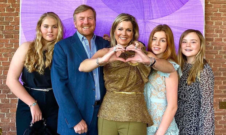 Máxima de Holanda celebra su cumpleaños con nostalgia de Eurovisión