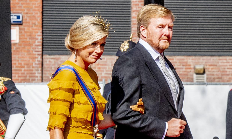 Guillermo y Máxima de Holanda celebran la apertura del Parlamento sin carroza y con muchos cambios