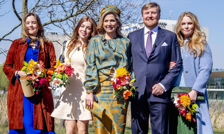 Las hijas de Guillermo y Máxima de Holanda, tres adolescentes con estilo propio en el Día del Rey
