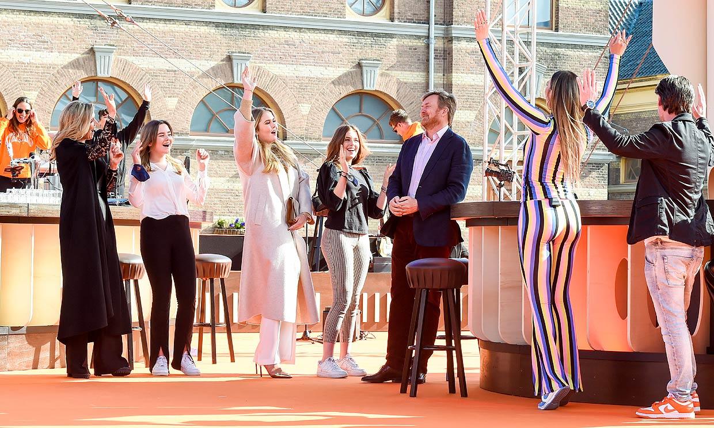 ¡Que no pare la música! Guillermo y Máxima de Holanda se van de concierto con sus hijas por el Día del Rey