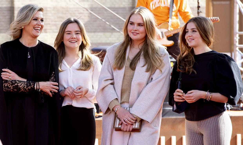 Amalia, hija de Máxima y Guillermo de Holanda, revela sus planes de futuro
