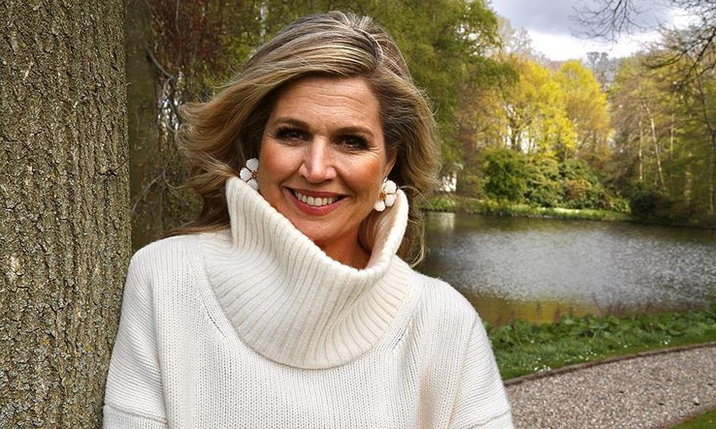Máxima de Holanda, fotografiada con mucho estilo por su marido a las puertas de su 50 cumpleaños