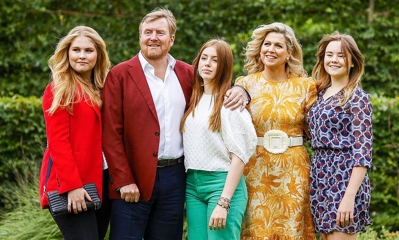Las princesas de Holanda reivindican su propia personalidad en el arranque de las vacaciones