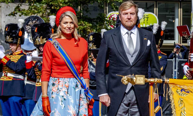 Los Reyes de los Países Bajos presiden un Día del Príncipe sin carroza ni balcón por el coronavirus
