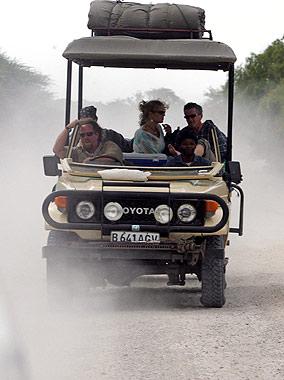 El príncipe Harry y Chelsy Davy: romántico safari en Botswana