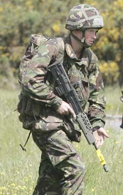 El príncipe Harry 'de patrulla'