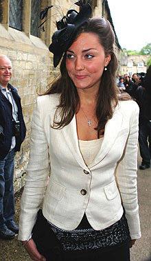 El príncipe Guillermo y Kate Middleton preparan su primera aparición pública juntos