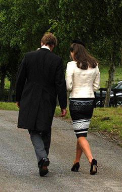 El príncipe Guillermo recibe la visita de Kate en Sandhurst