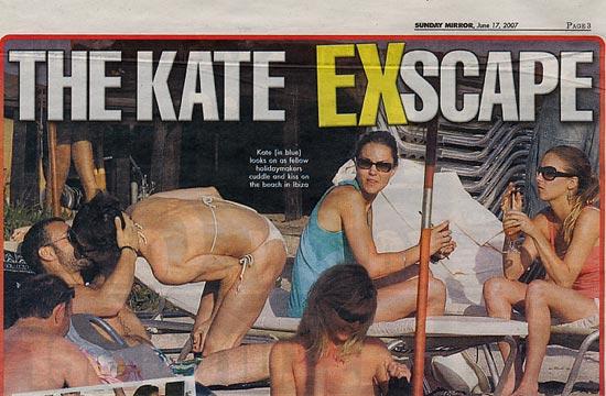 Kate Middleton vuelve a Ibiza sin Guillermo