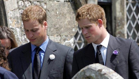 Los príncipes Guillermo y Harry invitan a la familia Al Fayed al funeral de su madre, la princesa Diana
