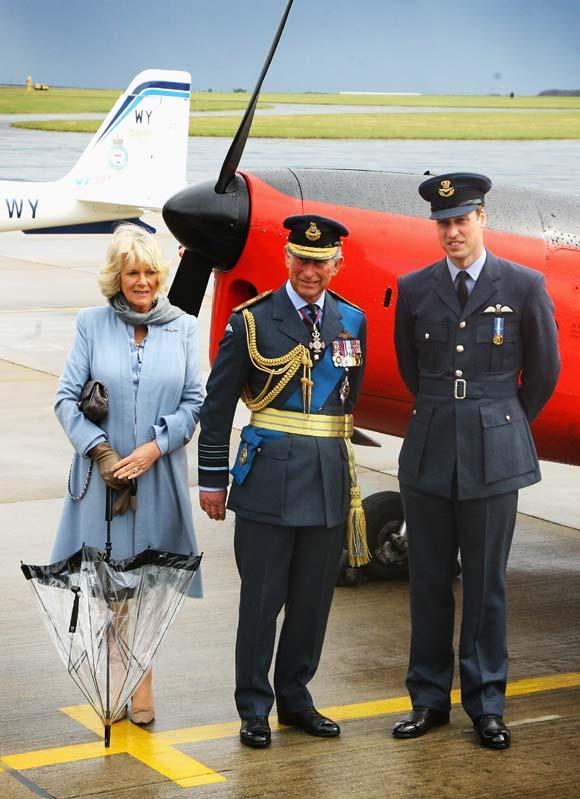El príncipe Guillermo de Inglaterra: 'oficial y caballero'