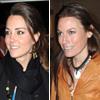 Kate Middleton y Jessica Craig, presente y pasado sentimental del príncipe Guillermo, coinciden en un estreno en Londres