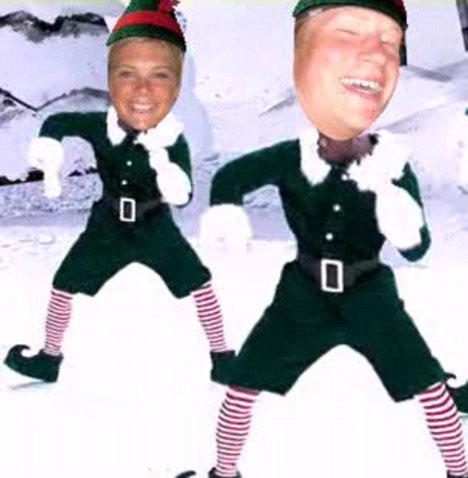 La divertida felicitación navideña del príncipe Harry y Chelsy Davy