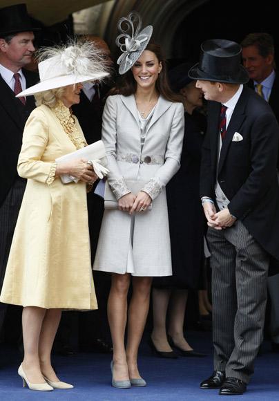 La duquesa de Cambridge se une a la Familia Real inglesa en la espectacular ceremonia de la orden de la Jarretera