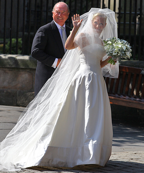 La boda de Zara Phillips y Mike Tindall