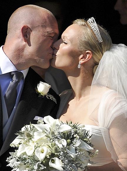 La boda de Zara Phillips y Mike Tindall