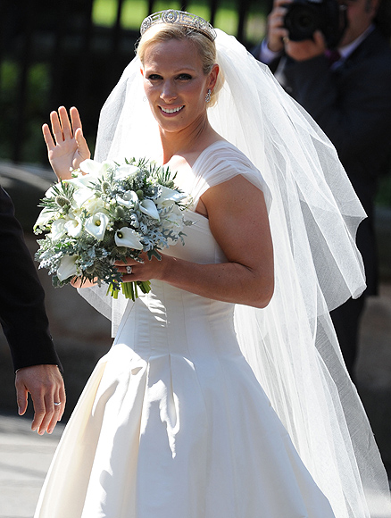 Matrimonio Zara Phillips : El vestido la tiara ramo los secretos mejor