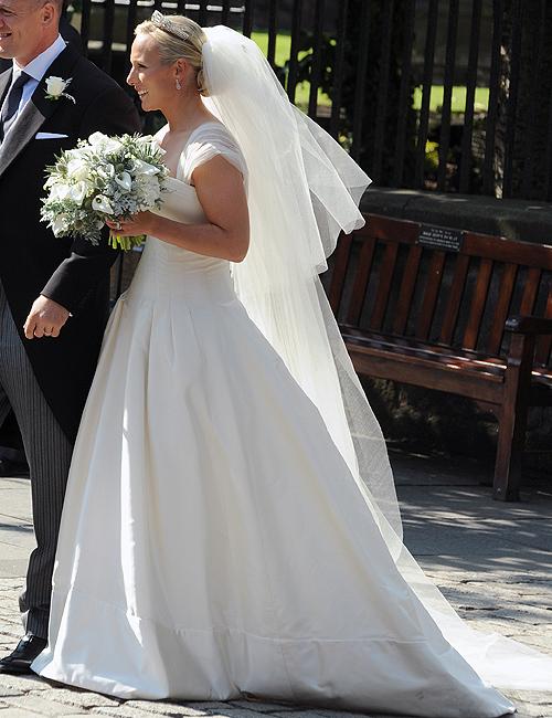 El vestido, la tiara, el ramo... Los secretos mejor guardados de Zara Phillips para el día de su boda
