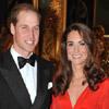 Los duques de Cambridge, elegantes protagonistas en Londres de una noche para la solidaridad