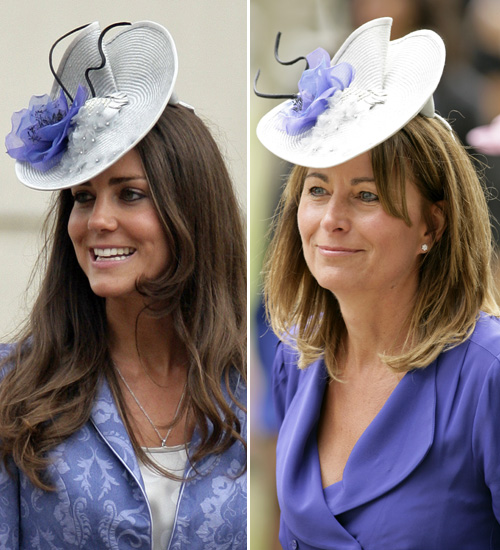 La duquesa de Cambridge comparte armario con su madre, Carole Middleton