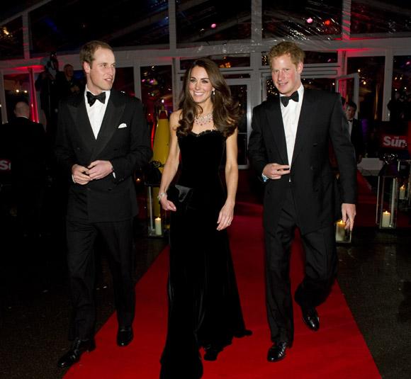 La duquesa de Cambridge deslumbra en un homenaje a las tropas británicas en Londres