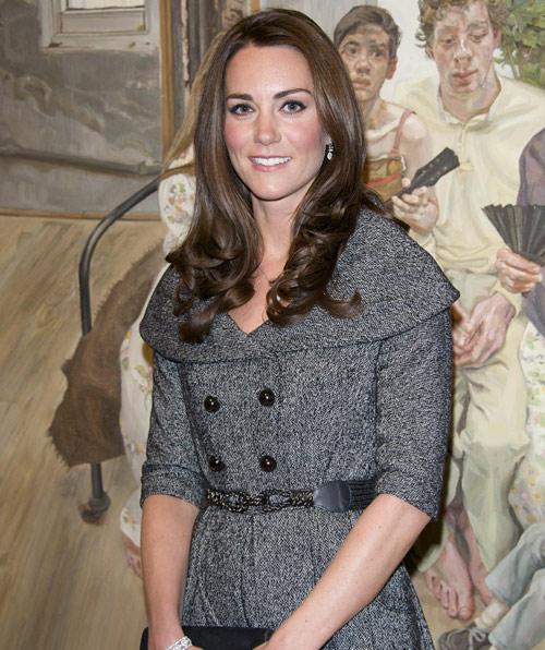 La duquesa de Cambrigde supera con nota su primer acto en solitario