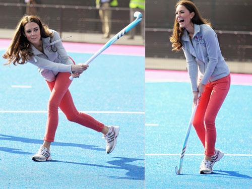 La duquesa de Cambridge recuerda cuando fue capitana de su equipo de hockey