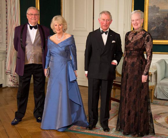 La princesa Marie vuelve a las galas de palacio en honor a Carlos y Camilla de Inglaterra