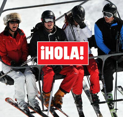 En ¡HOLA!: Los duques de Cambridge, románticas vacaciones en los Alpes, tras vivir separados seis semanas