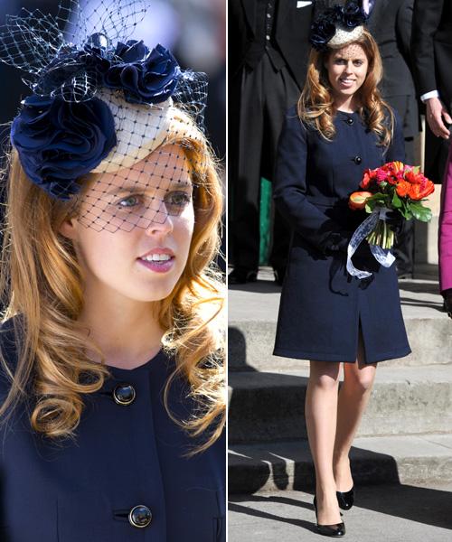 La princesa Beatriz, cada vez más presente en los actos de la familia real británica