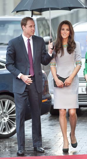 Los duques de Cambridge 'ensayan' para su futura paternidad