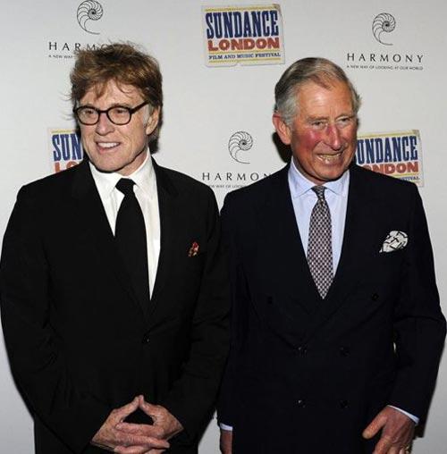 ¿Qué hacía el príncipe Carlos en el Festival Sundance London?