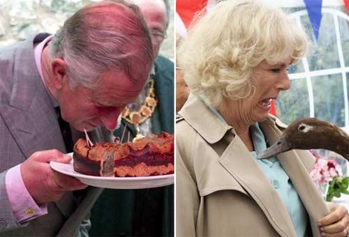 Las imágenes más simpáticas del Príncipe de Gales y la Duquesa de Cornualles
