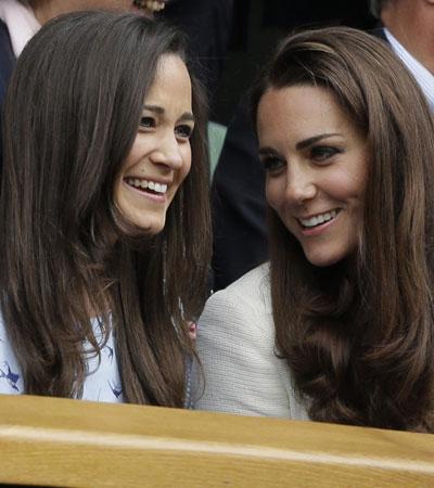 Las hermanas Middleton coinciden con los Beckham en la final de Wimbledon