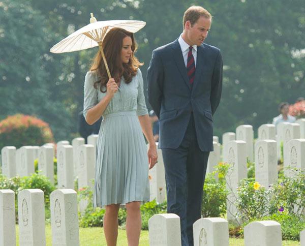 El príncipe Guillermo revela que quiere dos hijos y la Duquesa de Cambridge muestra su instinto maternal entre rumores de embarazo