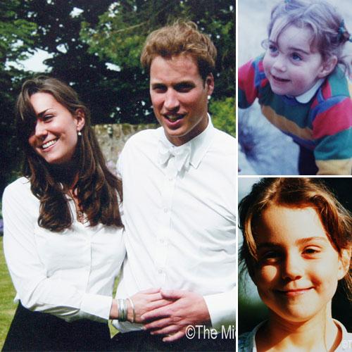 La feliz infancia de la Duquesa de Cambridge