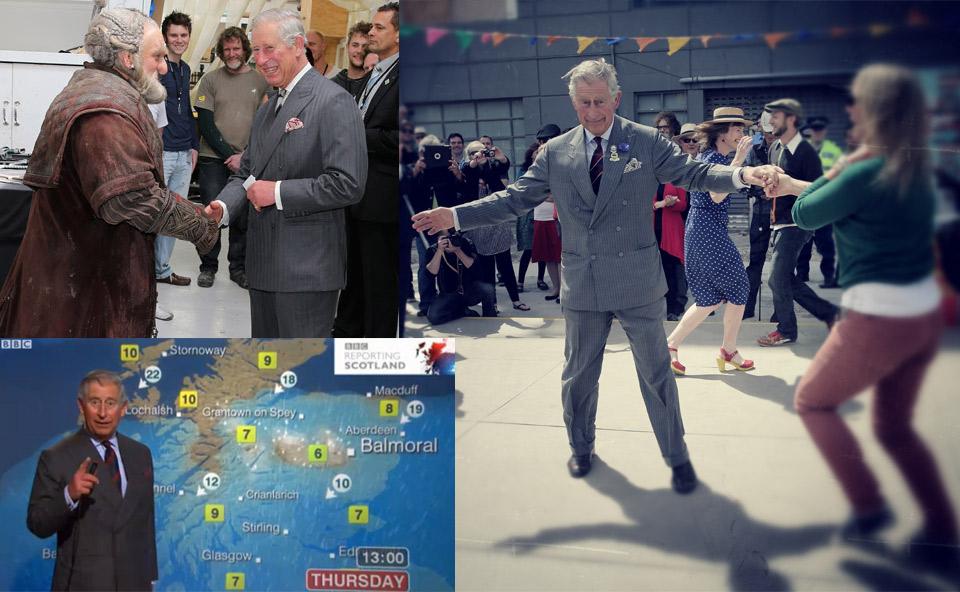 Las imágenes más divertidas de la Casa Real inglesa en 2012