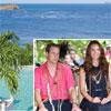 Los Duques de Cambridge, vacaciones en el paraíso