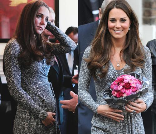 Kate Middleton admite nervios por el parto en su primer acto oficial tras sus vacaciones en el Caribe