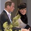 Los Duques de Cambridge, en la boda de unos amigos en Suiza