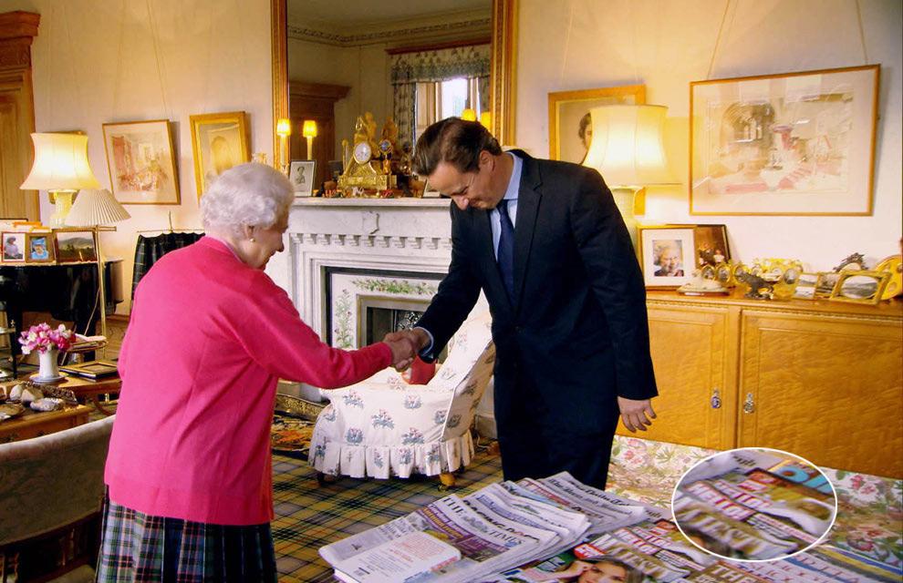 La reina Isabel felicita a 'Hello!' en su 25º aniversario