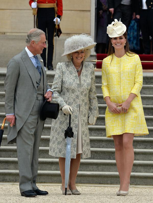 La Duquesa de Cambridge, la luz de Buckingham en la Fiesta del Jardín