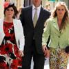 La princesa Eugenia y Cressida Bonas asisten a la boda de Rupert Finch, ex novio de la Duquesa de Cambridge