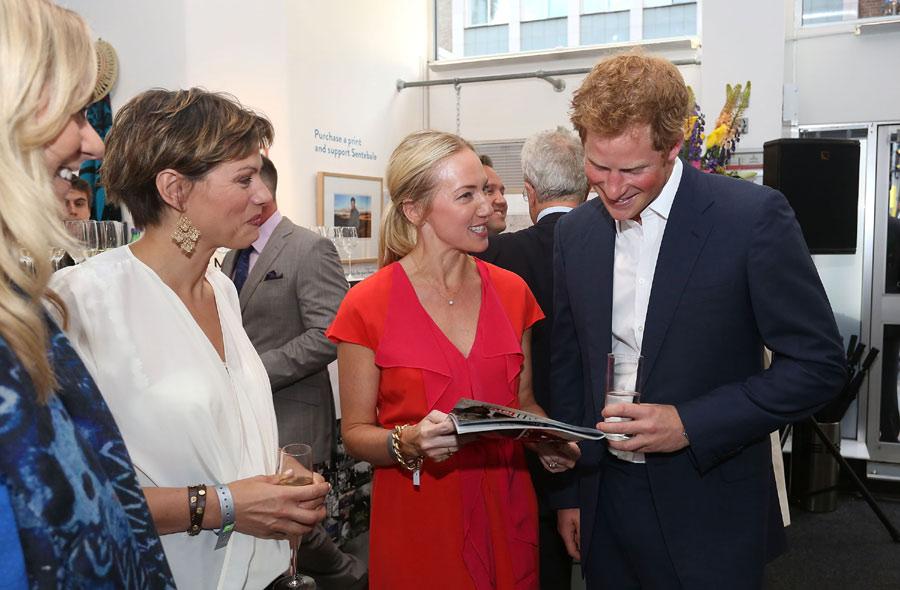El príncipe Harry se asegurará de que su nuevo sobrino 'se divierta'