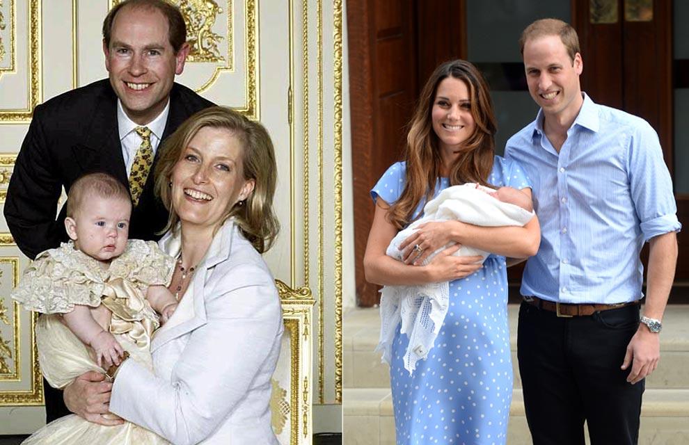561f50330 El príncipe George de Cambridge será bautizado con la réplica de un ...