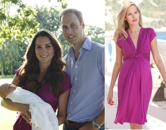 El vestido fucsia de la Duquesa de Cambridge vuela de las tiendas gracias al efecto 'Kate Middleton'