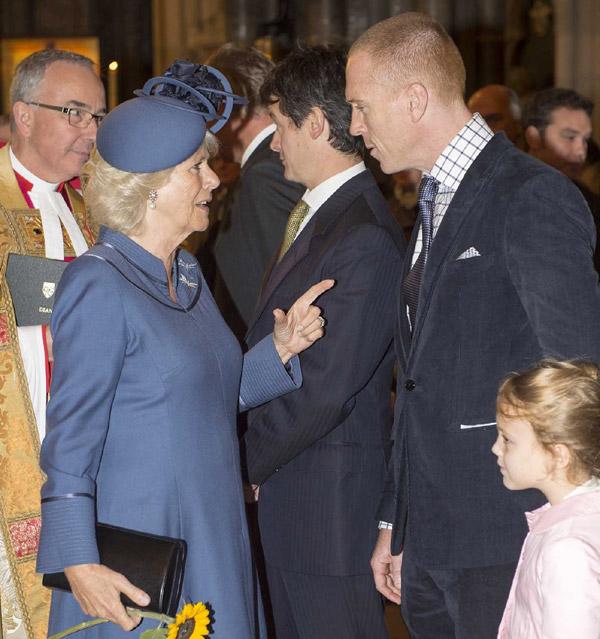 La Duquesa de Cornualles, fan de 'Homeland', hace la pregunta que todos los seguidores de la serie se preguntan... a Damian Lewis: '¿Dónde está Brody?'